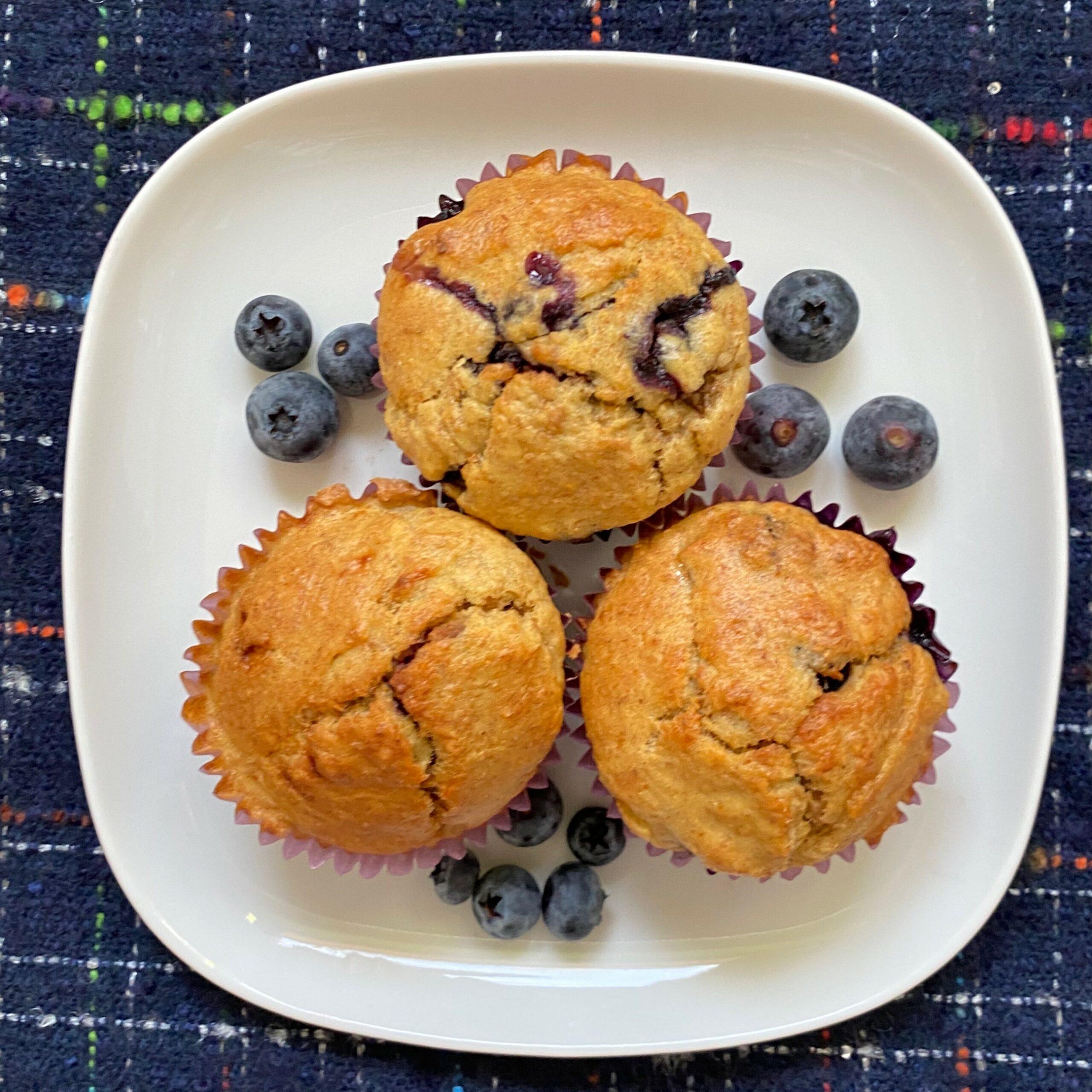 Muffinki zborówkami bezcukru